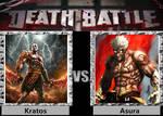 Death Battle - Kratos vs Asura