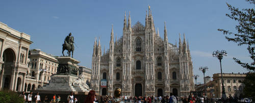 Piazza di Milano by ScarletCB