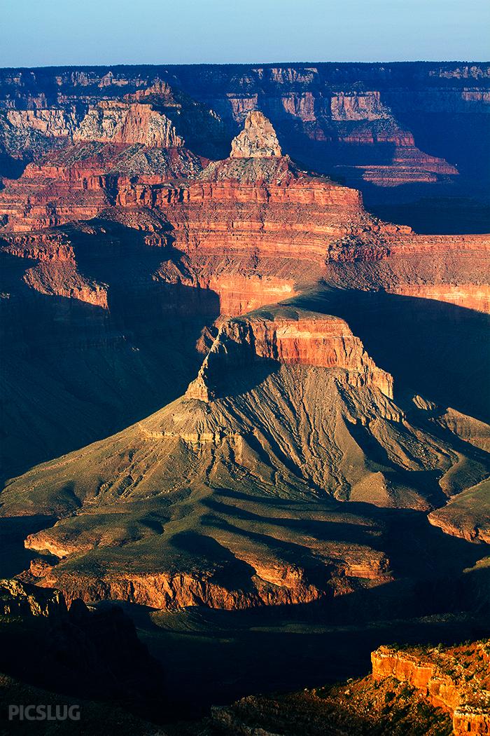 Grand Canyon aerial view by picslug