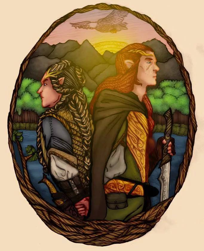 FINGON AND MAEDHROS by Mobilicorpus