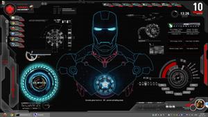 Shield OS Ultimate Skin : Rainmeter