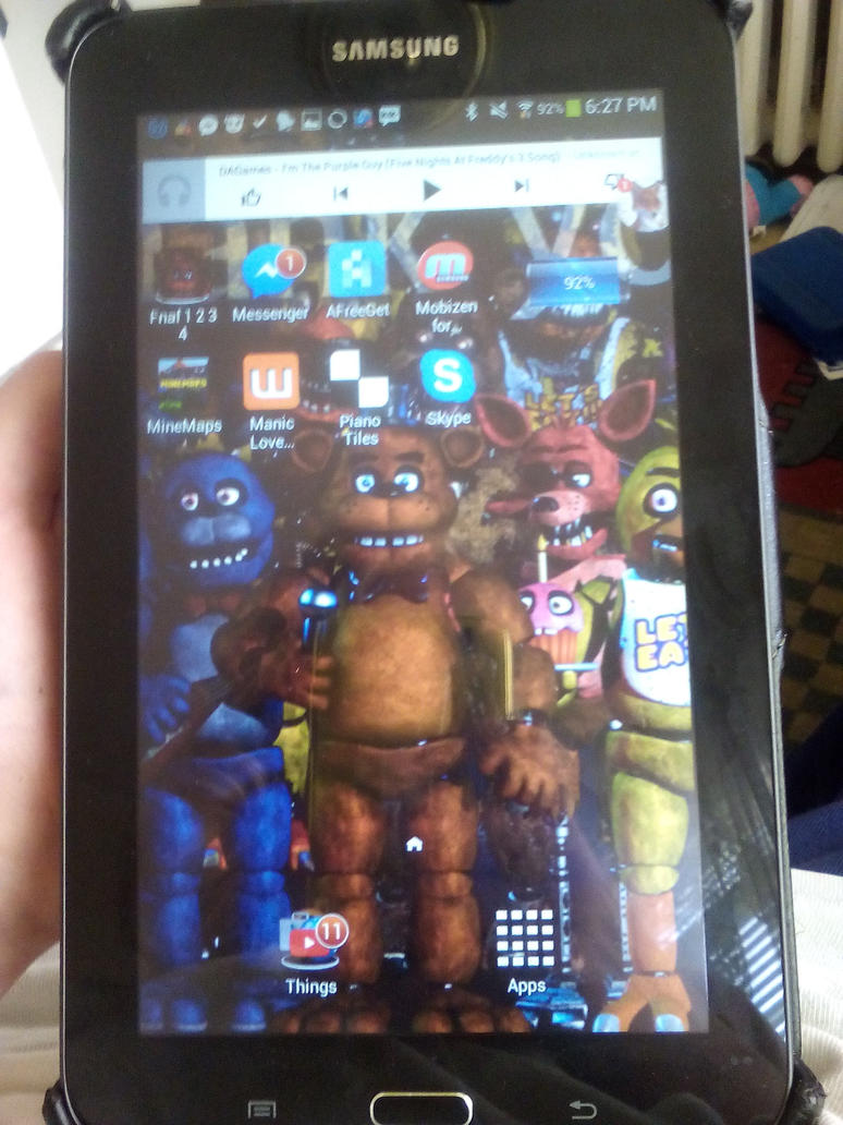 my tablet by eveancesceance