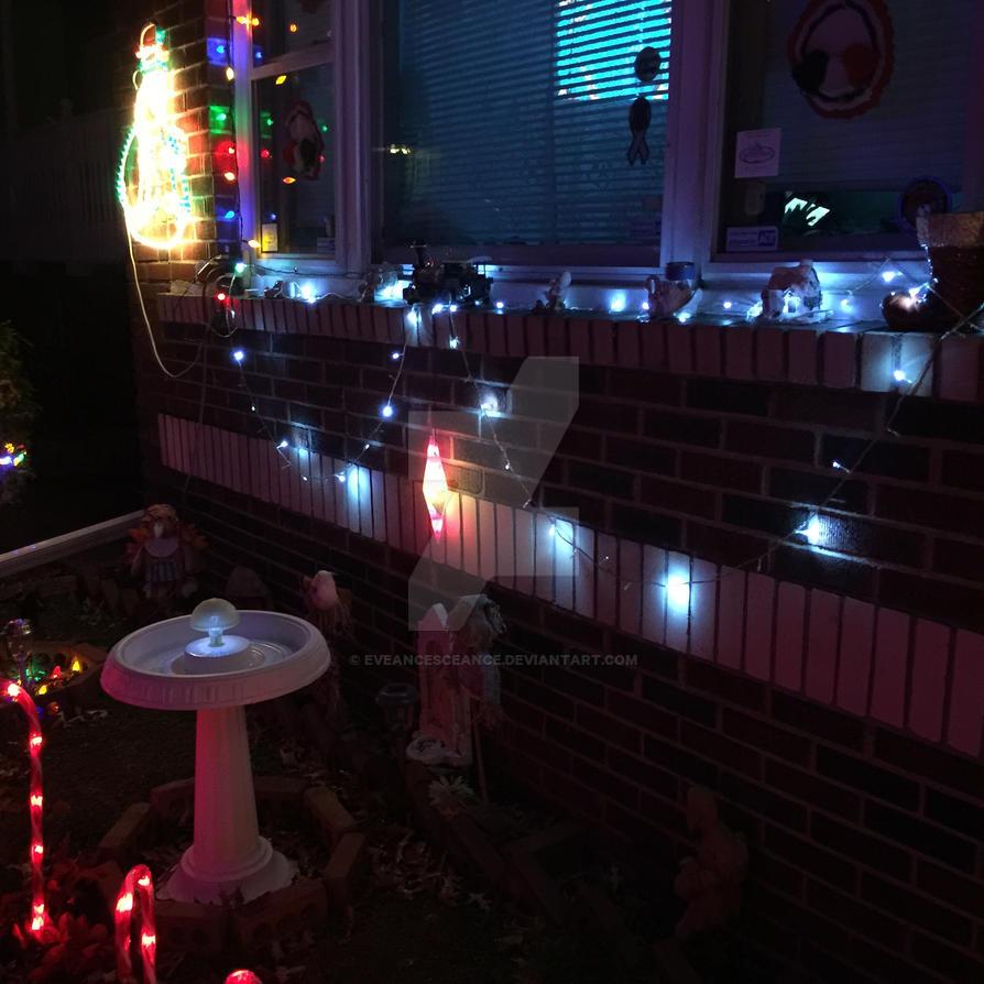 Our beautiful Christmas lights by eveancesceance