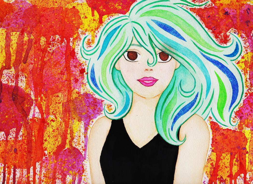 Seaweed Princess by ChrysanthemumMoon