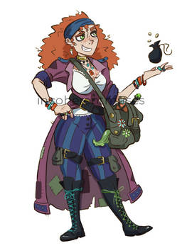 Maisie The Merchant - DnD NPC