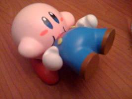 Kirby vs. Mario Munny by Daeo