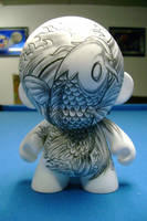 Koi Fish Tattoo Munny by Daeo