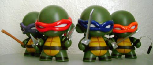Teenage Mutant Ninja Munnys by Daeo