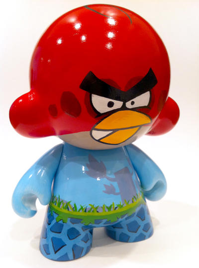 Angry Birds Munny by Daeo