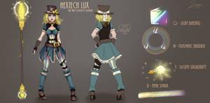 Hextech Lux Design by Jevvelia