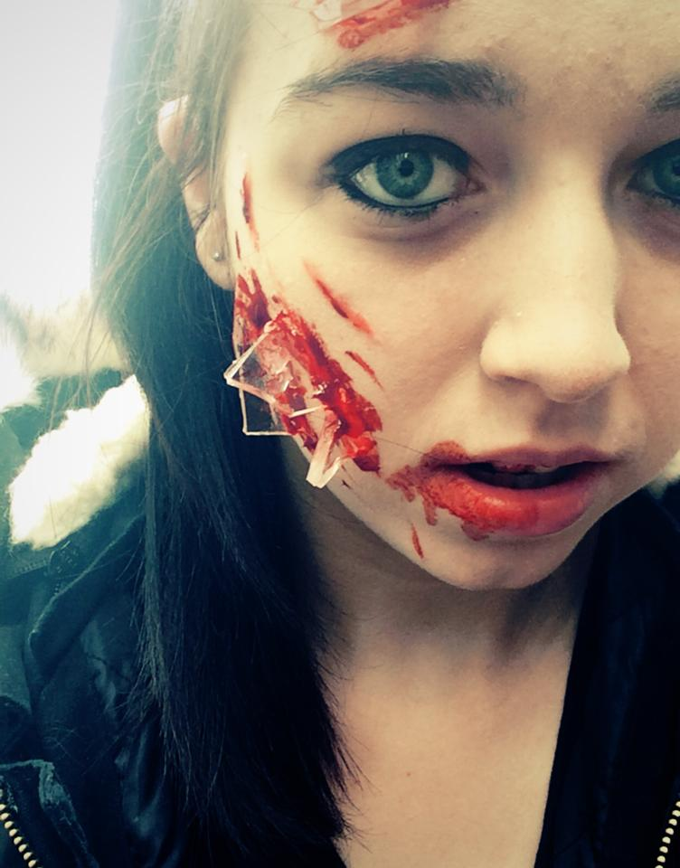 Glass Shattered Face by pearlandfrog13 on deviantART