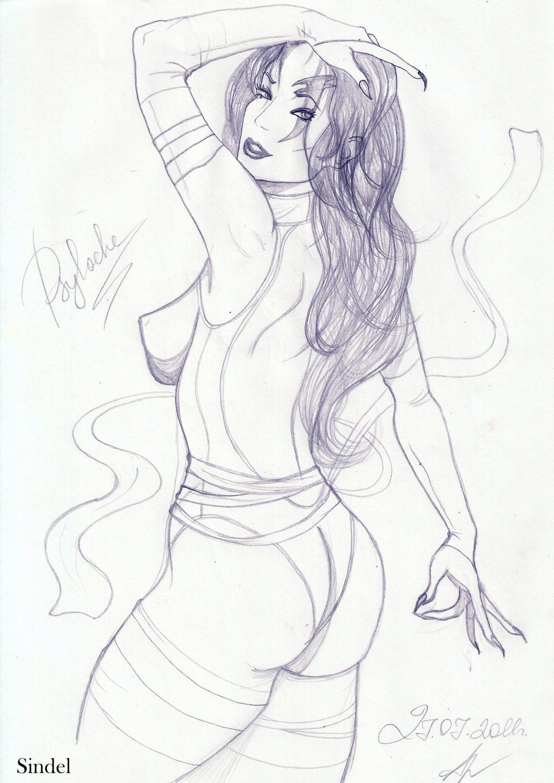 20110727  Psylocke by Ana-Archer