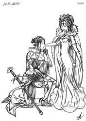 20160314  Knight Ymir X Queen Historia