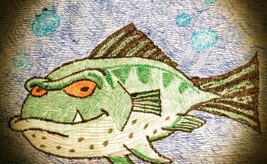 Fishy fishy by Luv2fly0714