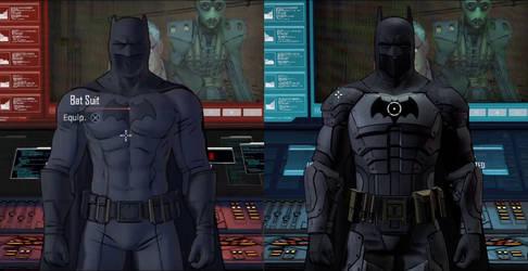 Batman The Telltale Series suits by silkroad820420