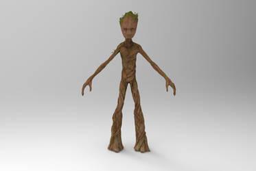 Teenage Groot by silkroad820420