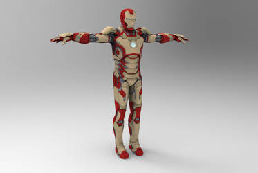 Iron Man Mark 42 by silkroad820420