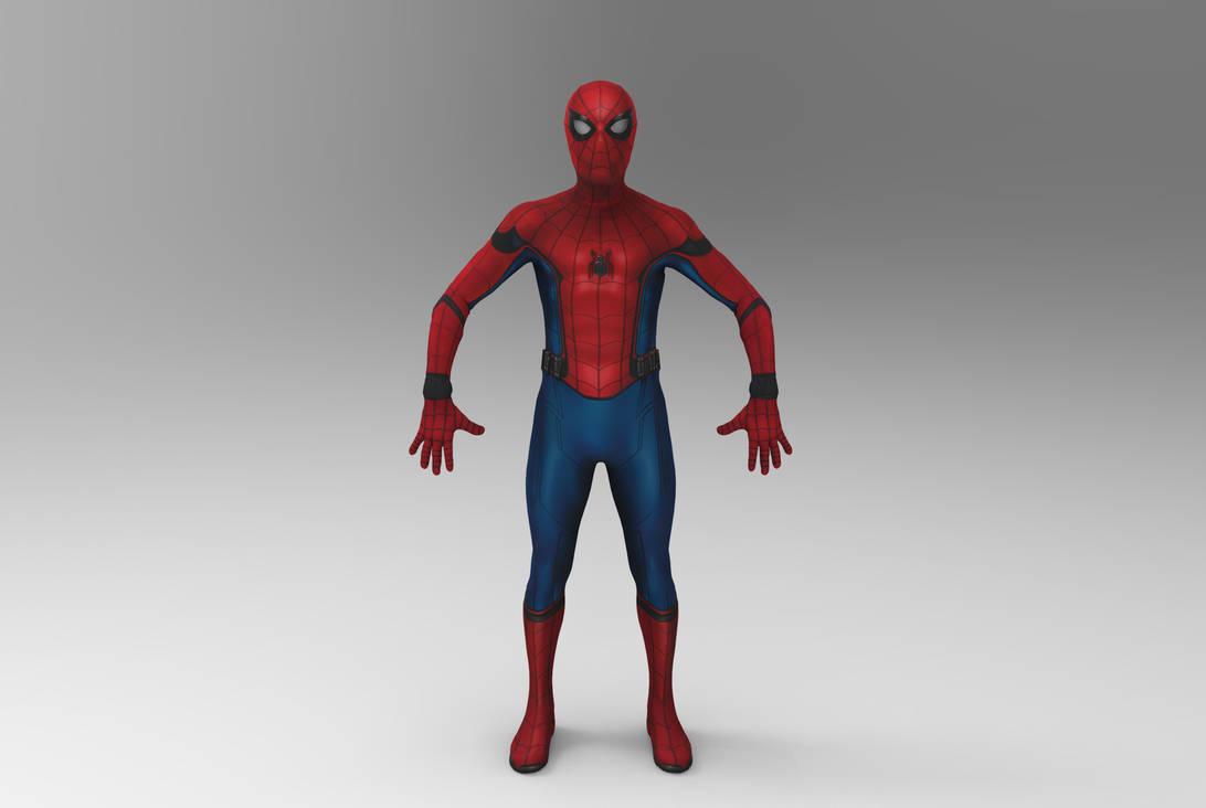 Spider-Man Stark Suit by silkroad820420