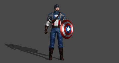 Captain America The First Avenger by silkroad820420