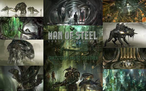 MAN OF STEEL concept art Wallpaper by EarlsJS