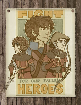 Our Fallen Heroes Colored