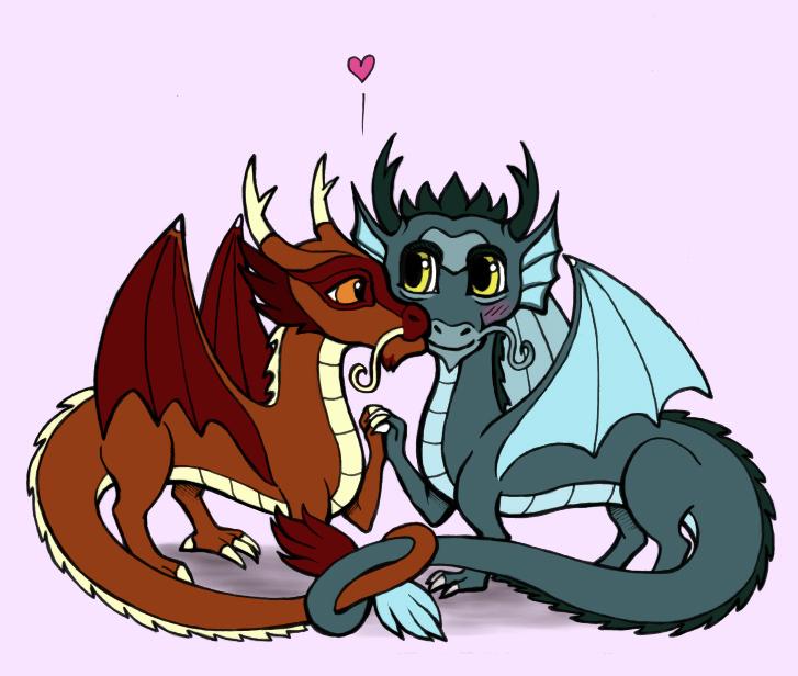 Avatar Dragon: Avatar Dragon Love By Foxysquid On DeviantArt