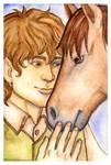 LOTR: Sam and Bill by foxysquid