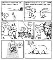 Stupid Seal's Xmas Wish 3 by foxysquid