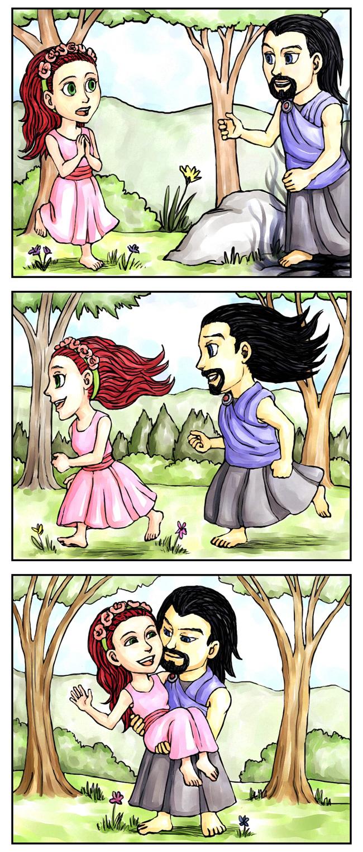 Persephone Comic Hades Loves Persephone...