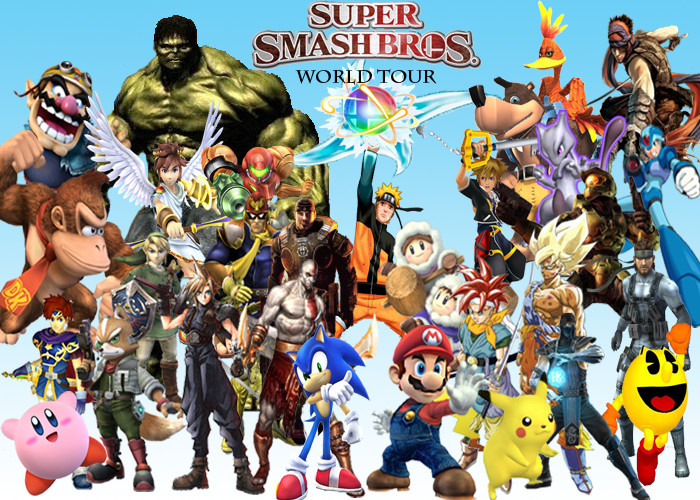 super smash bros game 2