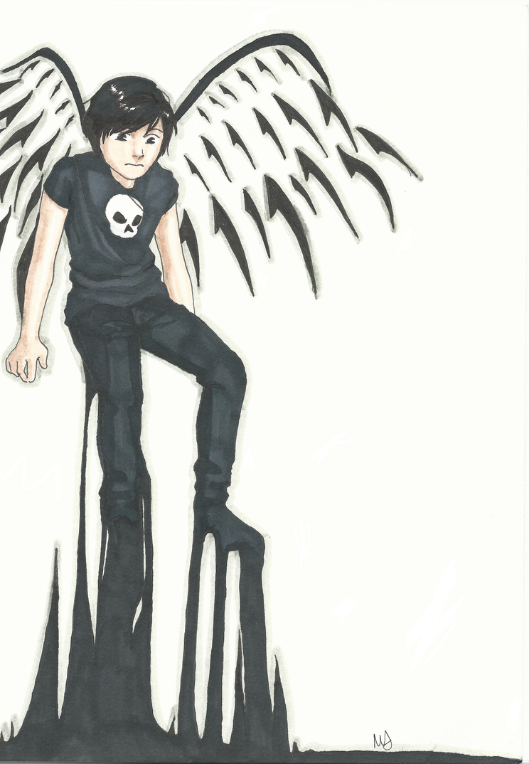 Angel of Death by Mababwion1