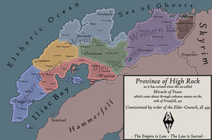Imperial Province of High Rock, 3E 433 by Charger24