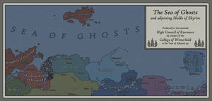 Sea Of Ghosts Canvas