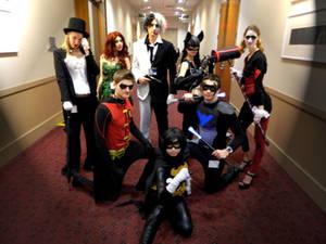 Black Bat - Heros and Villians