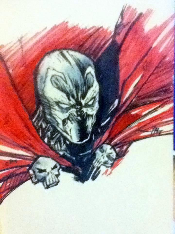 Spawn Sketch by IgorChakal