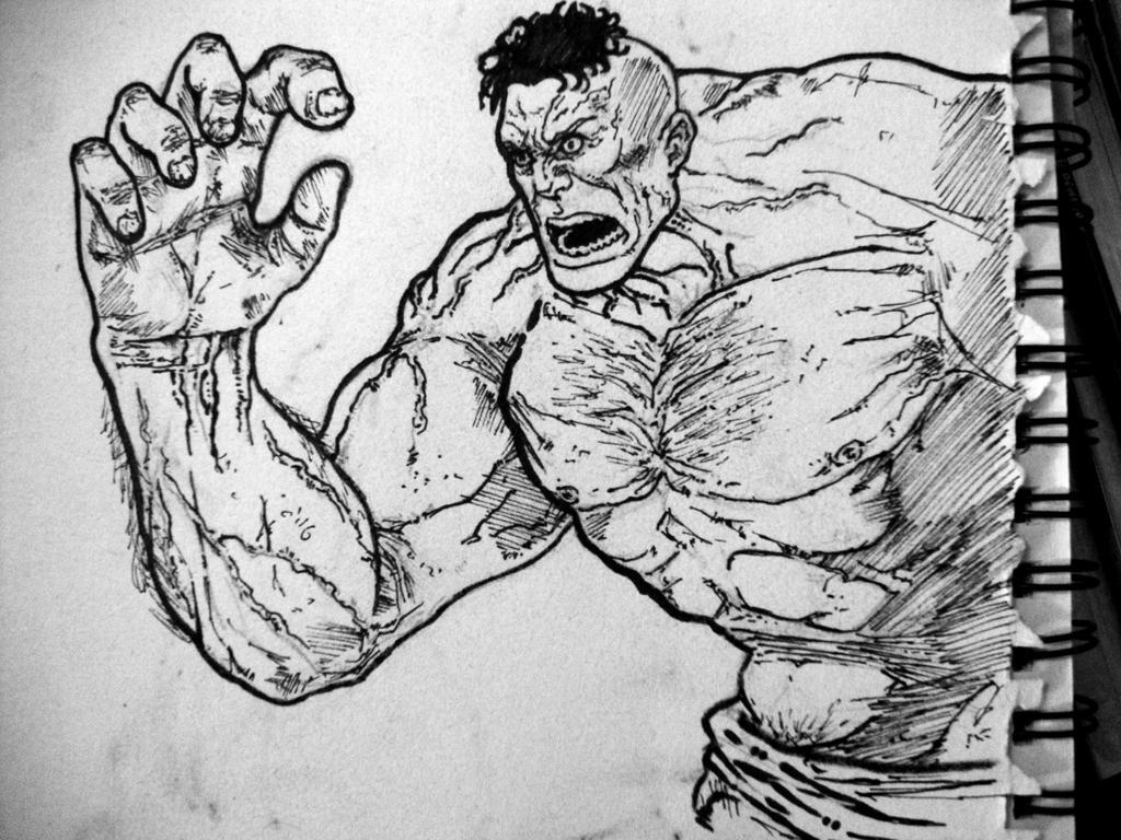 Hulk by IgorChakal