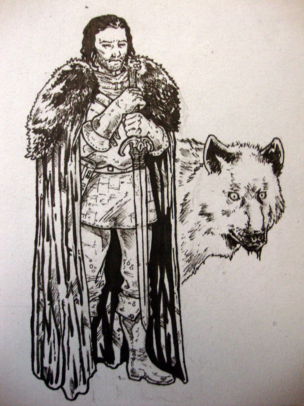 Jon Snow2 by IgorChakal
