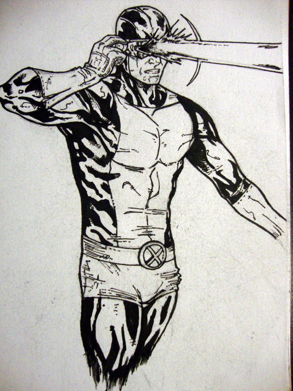 Cyclops Sketch by IgorChakal