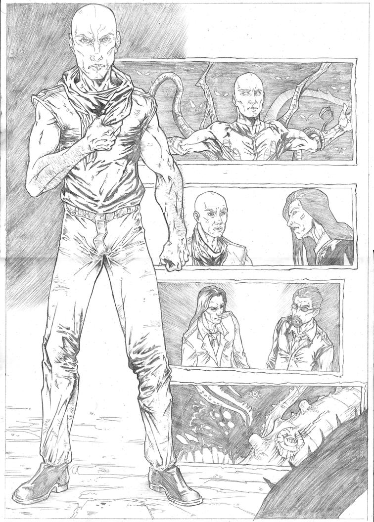 The Darkness Sample - Page 7 - A3 pencil by IgorChakal