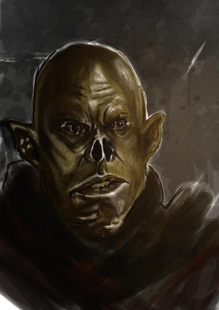 The Master from The Strain, Digital quick painting by IgorChakal