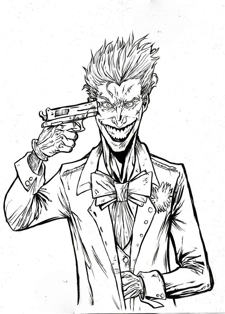 Joker - A3 by IgorChakal