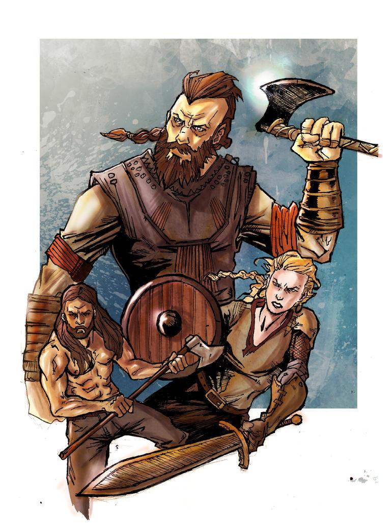 Vikings by IgorChakal