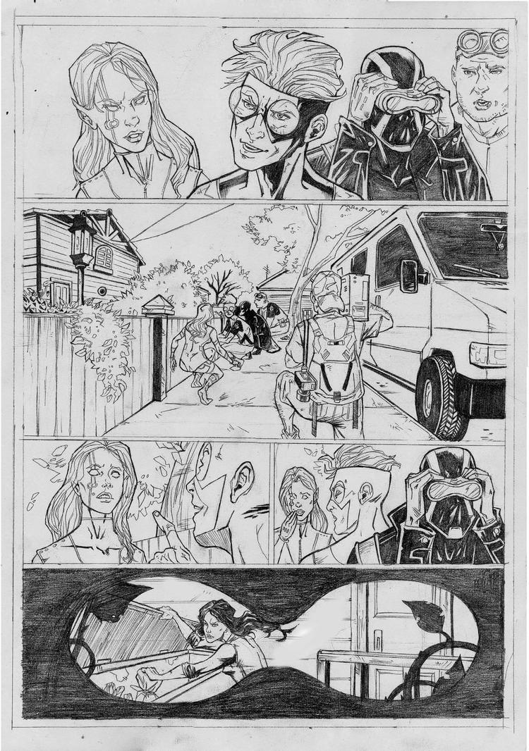 Civil War page 1 Sample by IgorChakal