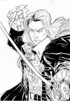 Castlevania Symphony of the Night's Alucard by IgorChakal