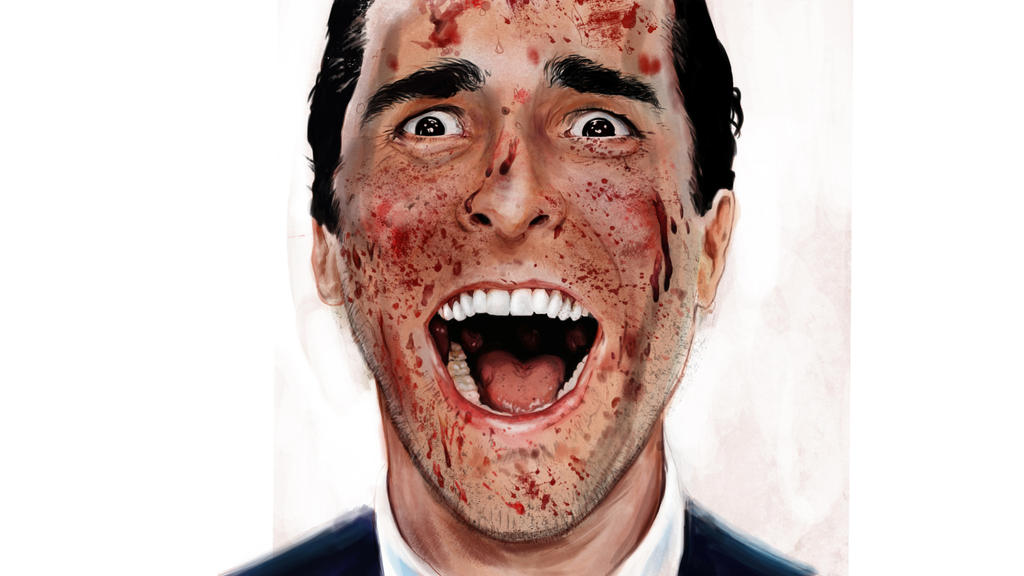 American Psycho  digital painting by IgorChakal