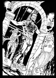 Vampire the masquerade illustration