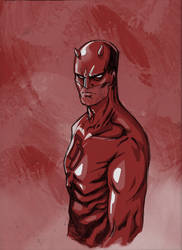 Daredevil Sketch by IgorChakal