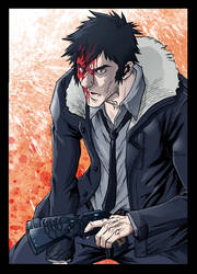 Kogami A3 painting