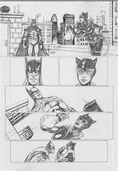 Catwoman sample page #1 by IgorChakal