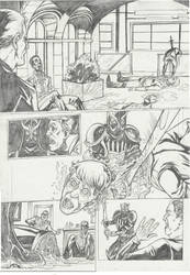 Nightwing 08 sample page #2 by IgorChakal
